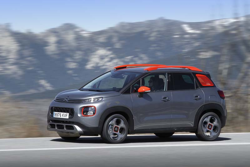 Citroën C3 Aircross BlueHDi 120 EAT6, foto lateral