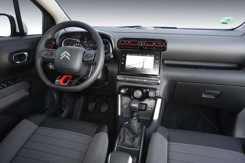 Citroën C3 Aircross BlueHDi 120, foto salpicadero