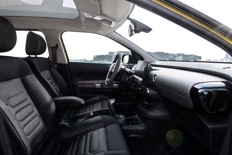 Citroen C4 Cactus asientos delanteros