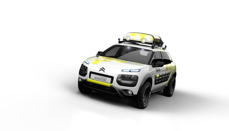 Foto Exteriores Citroen C4 Cactus Aventure Concept 2014