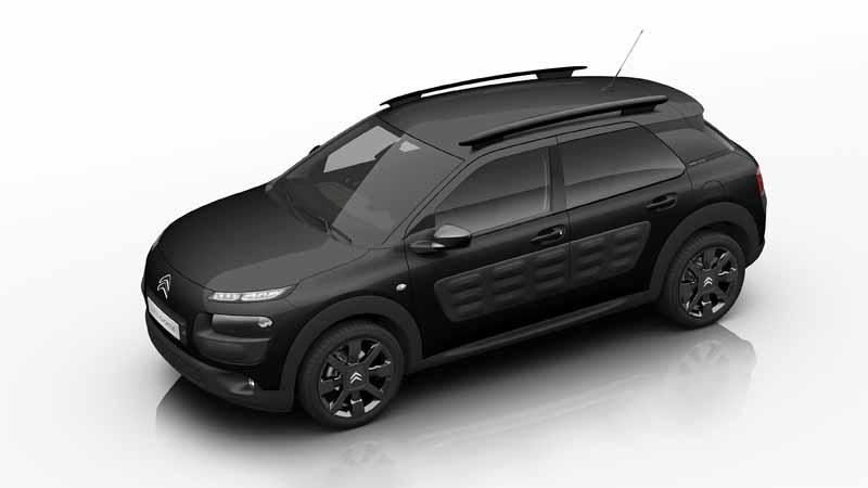 Citroën C4 Cactus OneTone Black 2017, vista delantera