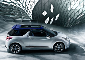 Foto Perfil Citroen Ds3 Descapotable 2012