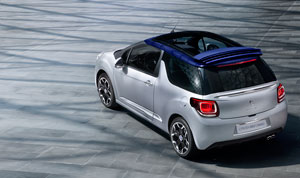 Foto Trasera Citroen Ds3 Descapotable 2012