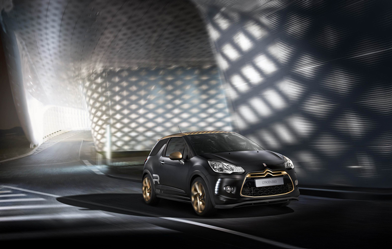 Citroën DS3 Racing Gold Mat 2013