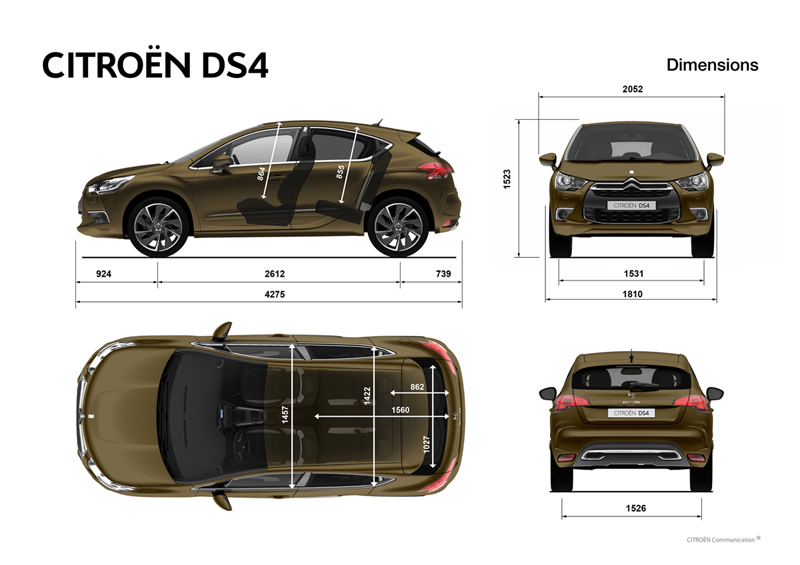 citroen ds4 an lisis plazas posteriores. Black Bedroom Furniture Sets. Home Design Ideas
