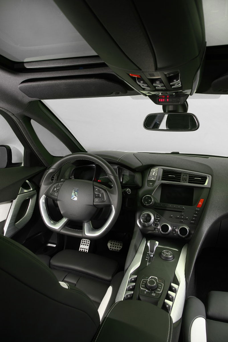 Foto Interiores Citroen Ds5 Dos Volumenes 2012