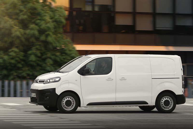 Citroën ë-Jumpy, foto lateral