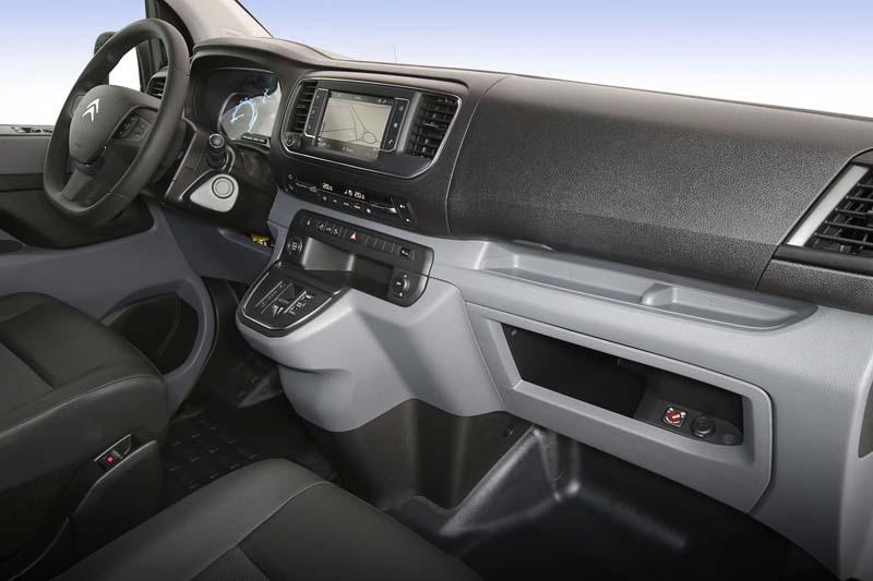 Foto Interiores Citroen E Jumpy Comercial 2021