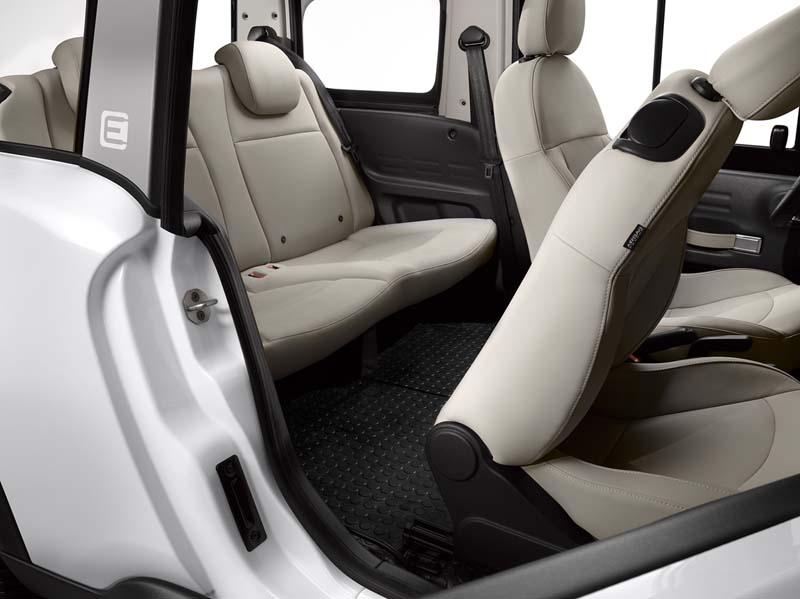 Citroën E-Mehari, foto asientos