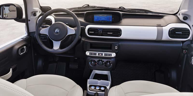 Citroën E-Mehari, foto salpicadero