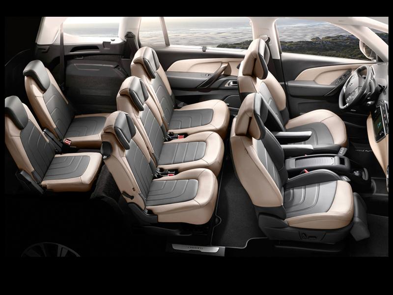 Foto Interiores Citroen Grand C4 Picasso Monovolumen 2013
