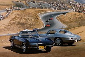 Foto corvette 50-aniversario