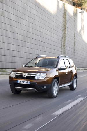 Foto Frontal Dacia Duster Suv Todocamino 2011
