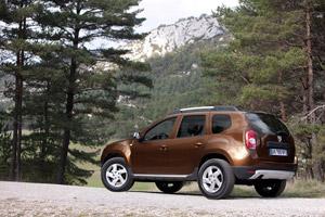 Foto Trasera Dacia Duster Suv Todocamino 2011