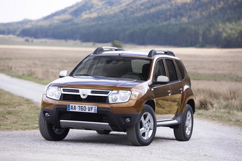 Foto Delantera Dacia Duster Suv Todocamino 2011