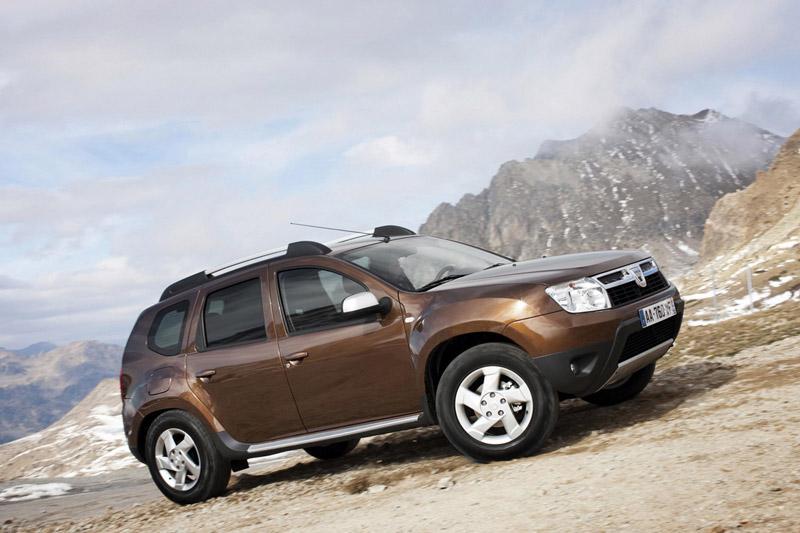 Foto Perfil Dacia Duster Suv Todocamino 2011
