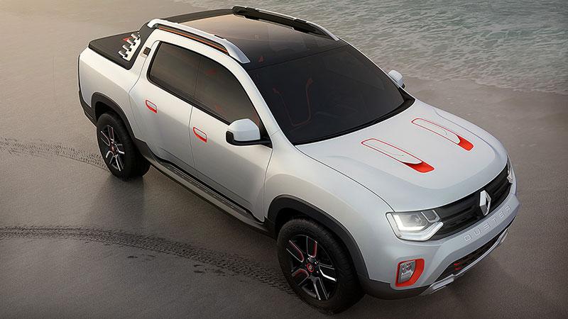 Foto Delantera Dacia Duster Oroch Concept 2014