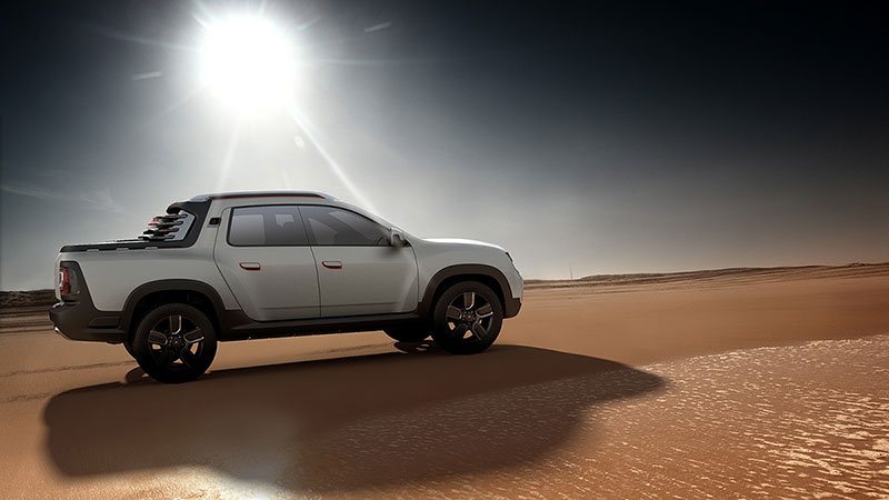 Foto Exteriores (1) Dacia Duster-oroch Concept 2014