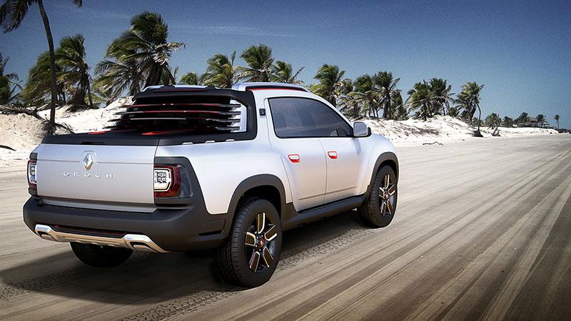 Foto Exteriores (2) Dacia Duster-oroch Concept 2014