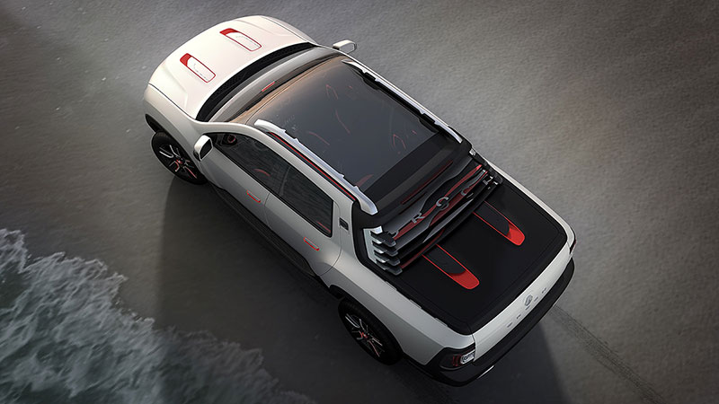 Foto Exteriores (3) Dacia Duster-oroch Concept 2014