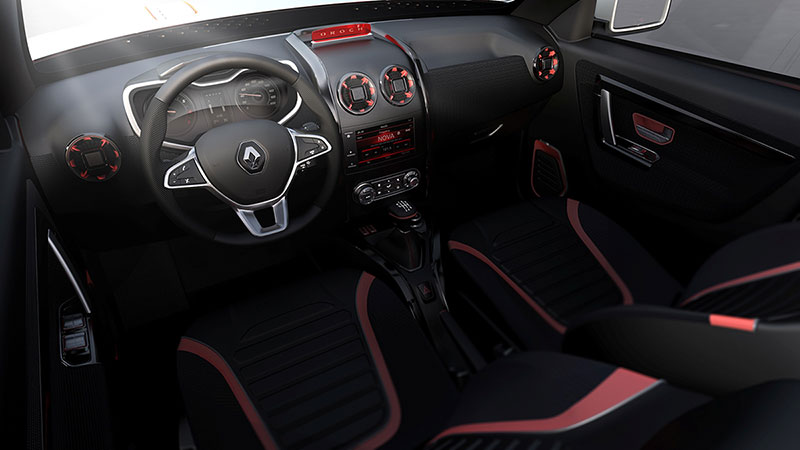 Foto Salpicadero Dacia Duster Oroch Concept 2014
