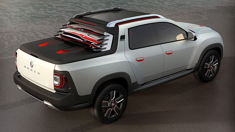 Foto Trasera Dacia Duster Oroch Concept 2014