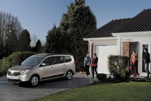 Foto Exteriores (2) Dacia Lodgy Monovolumen 2012