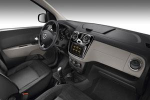 Foto Interiores Dacia Lodgy Monovolumen 2012