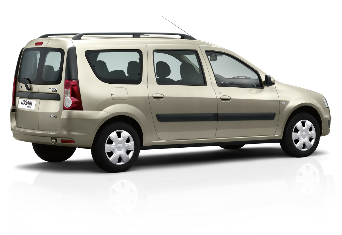 Foto Trasera Dacia Logan Familiar 2009