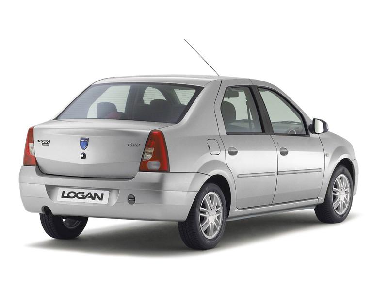Foto Trasero Dacia Logan Sedan 2006