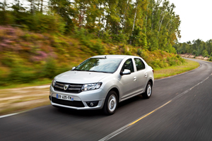 Foto Delantera Dacia Logan Sedan 2012