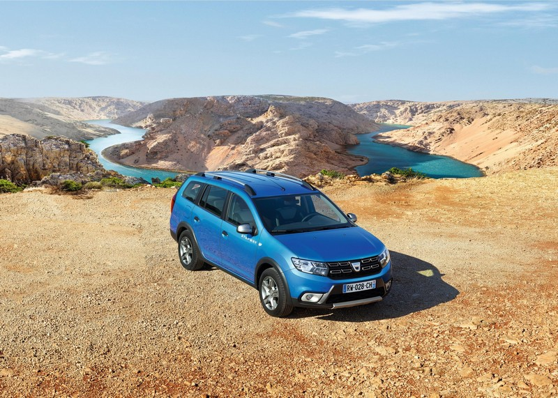 Dacia Logan MCV Stepway frontal