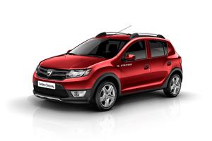 Foto Lateral Dacia Sandero-stepway Dos Volumenes 2012
