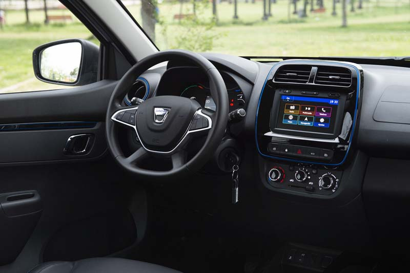 Foto Interiores Dacia Spring Suv Todocamino 2020