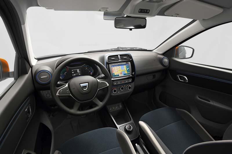 Foto Salpicadero) Dacia Spring Suv Todocamino 2020