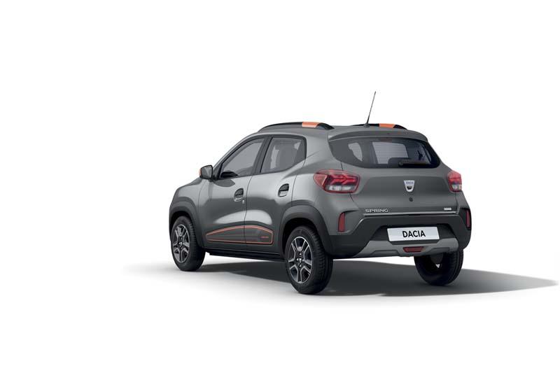 Foto Trasera Dacia Spring Suv Todocamino 2020