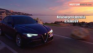 Foto Relacion Peso Potencia Alfa Romeo Giulia Diccionario Peso-seguridad
