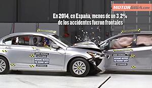 Foto Accidente Entre Coches Diccionario Peso-seguridad