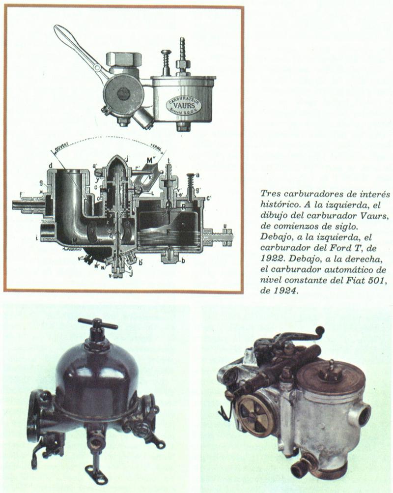 Tipos de carburador