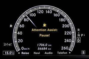 Foto diccionario attention assist