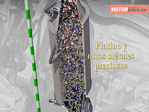 Foto Metales Del Catalizador Oxidacion Diccionario Catalizador-diesel