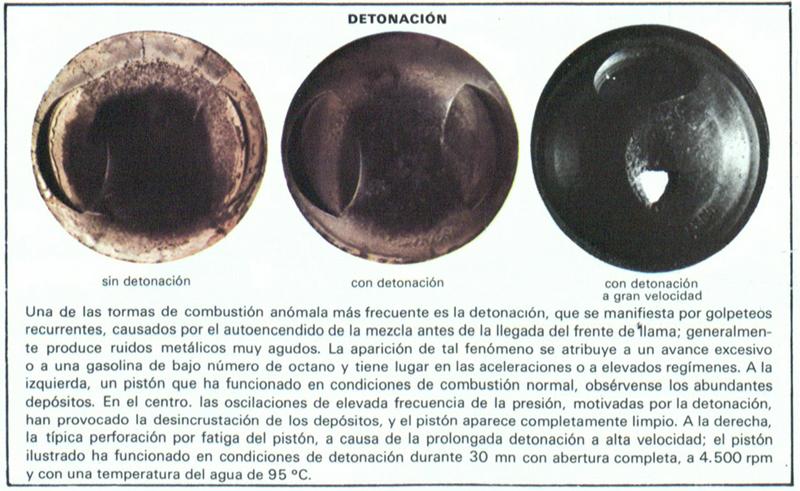 Foto Detonacion Diccionario Encendido