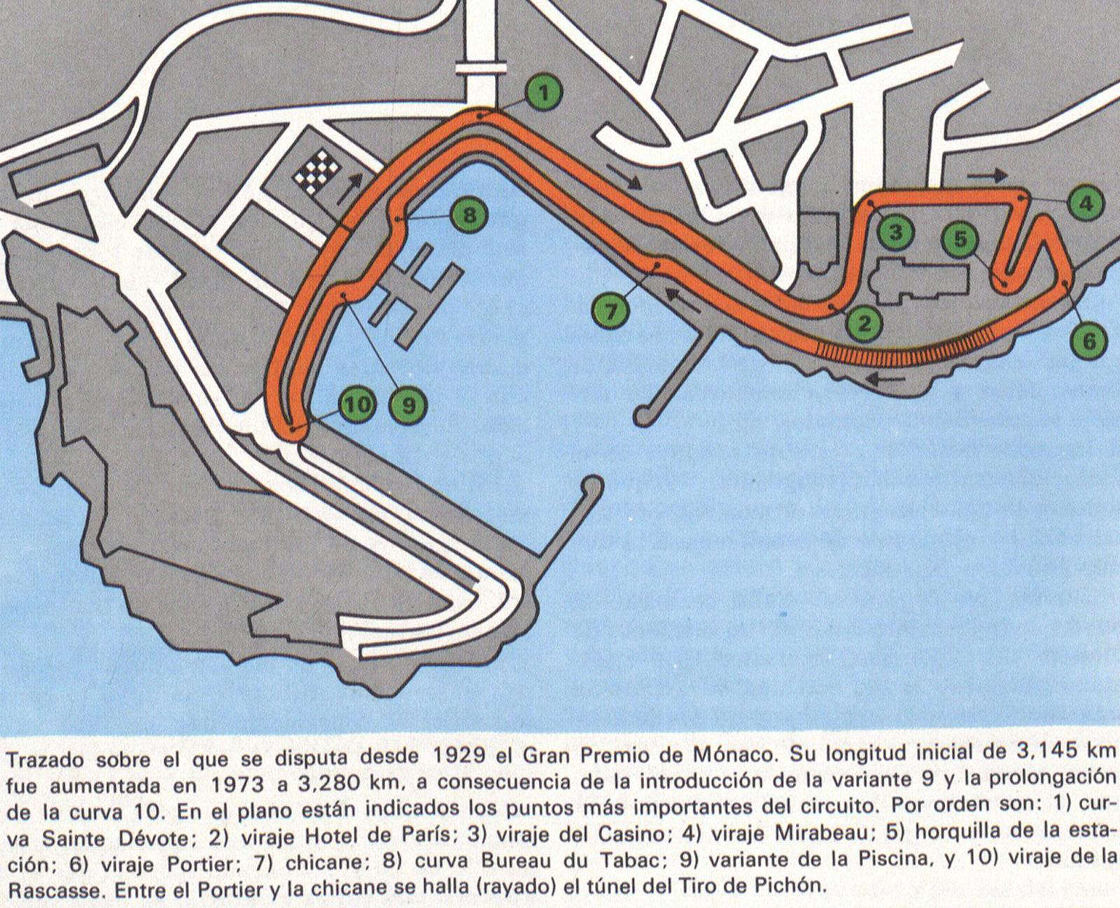 Circuito Monaco : Foto monaco circuito diccionario infografias y curiosidades