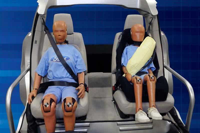 Cinturón de seguridad, dummies