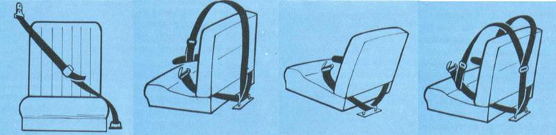 cinturón de seguridad, infografía