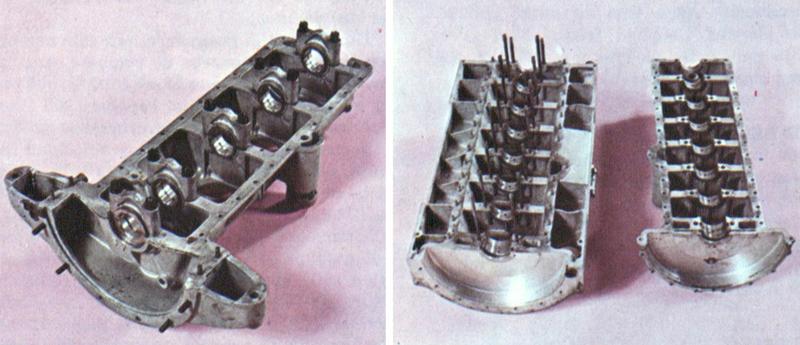Ejemplo de cárter de un motor