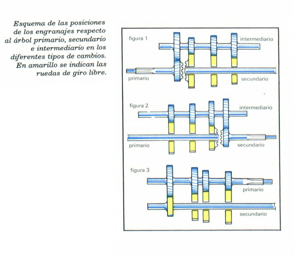 Foto cambio manual esquema funcionamiento diccionario for Arbol de fotos manual