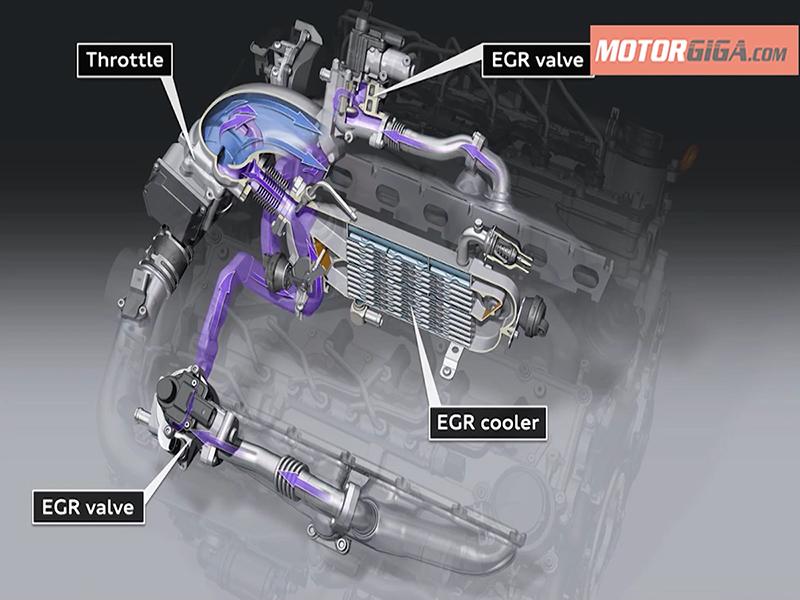 Ciclo completo válvula EGR