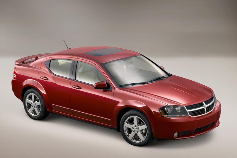 Foto Delantero Dodge Avenger Sedan 2008