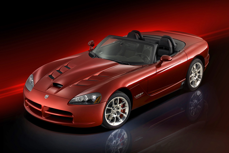 Foto Delantero Dodge Viper Descapotable 2006
